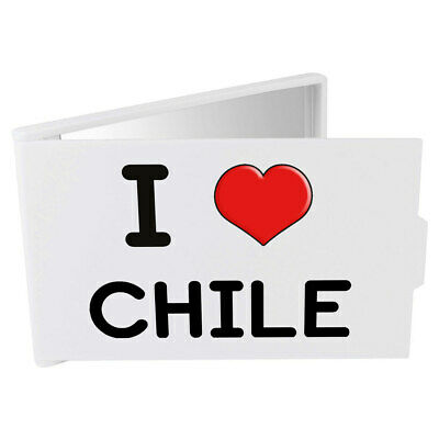 'I Love Chile' Compact / Travel / Pocket Makeup Mirror (CM00000290)