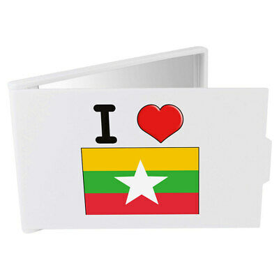 'I Love Myanmar' Compact / Travel / Pocket Makeup Mirror (CM00000336)