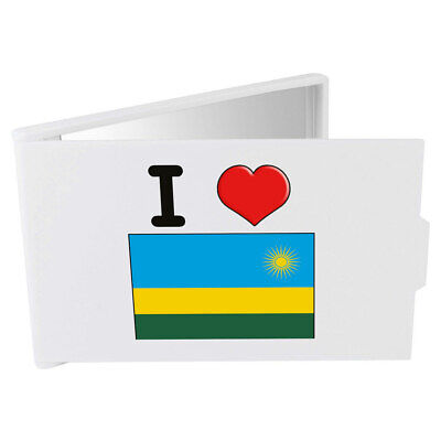 'I Love Rwanda' Compact / Travel / Pocket Makeup Mirror (CM00000346)
