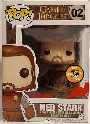 Funko Pop Headless Ned Stark #02 Game of Thrones SDCC 2013 Exclusive GRAIL