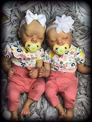 Reborn Baby ,Set Of Twin a And B , custom Order Only, reborn baby dolls,