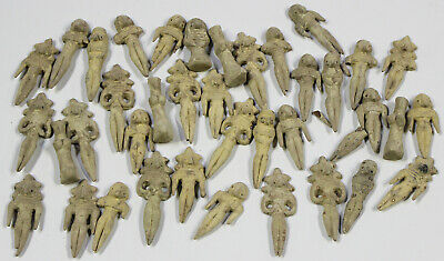 Amazing collection of Indus Valley Terracotta Fertility Dolls x 38