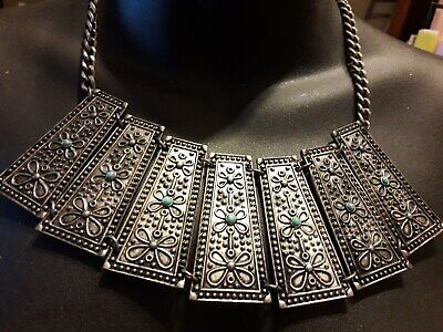 Vintage Bronze Colore 6 In. Tone Chocker Very Good Condition Pre Owned