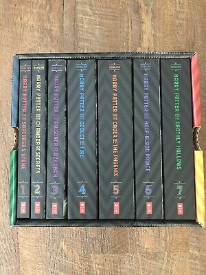 Harry Potter The Complete Series Box Set Books 1-7 -Like New Condition