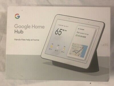 Google Home Hub with Google Assistant (GA00515-US) - Charcoal (FE1033656)