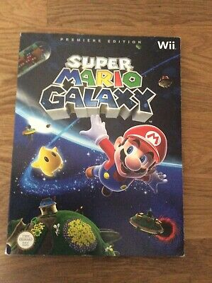 Le Guide Officiel Super Mario Galaxy Wii - Premiere Edition - Version Francaise