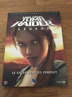 Guide Officiel Lara Croft Tomb Raider Legend