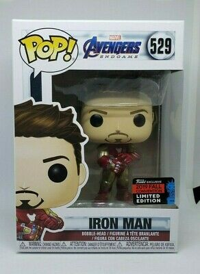 Funko POP! Tony Stark Iron Man Gauntlet Amazon Exclusive NYCC Fall Con #529