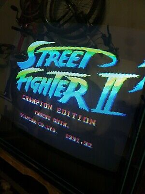 Street Fighter II  champion edition Jamma