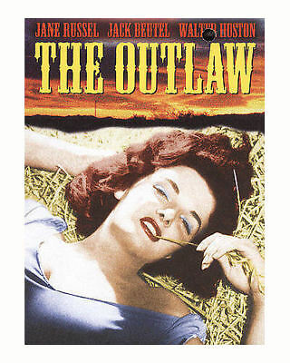 The Outlaw DVD 1943 Jane Russell Walter Huston CLASSIC HowardHughs OUT LAW MOVIE