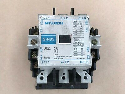 Mitsubishi S-N95 Magnetic Contactor