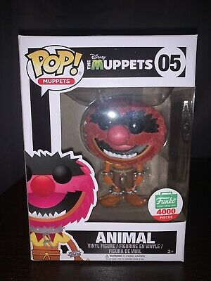 The Muppets Funko Pop Flocked Animal Exclusive