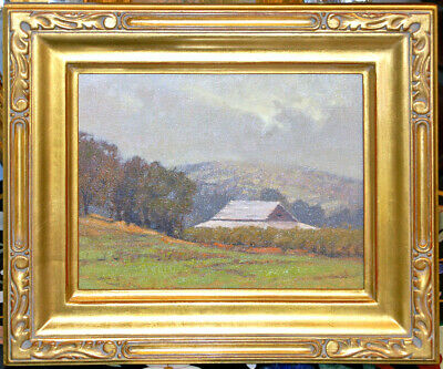 """Kevin Courter org. Painting """"Barn at Sutter's Buttes"""""""
