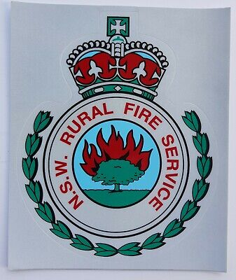 Obsolete NSW Rural Fire Service decal (small)