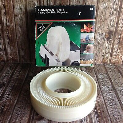 HANIMEX RONDEX ROTARY SLIDE MAGAZINE for PROJECTOR - BOXED