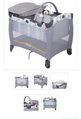 Graco Electra travel cot baby