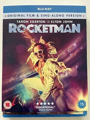 Rocketman BLU-RAY With Sing-A-Long Version Brand New Sealed Slipcase