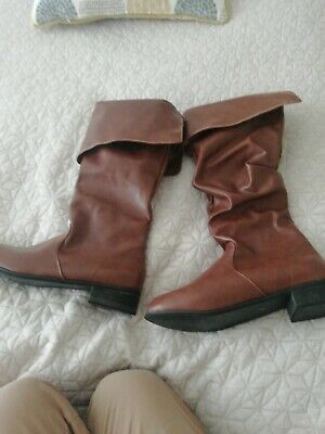 Larp Adventures Leather Medieval Boots