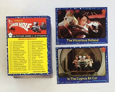 The Black Hole Vintage Complete Trading Card Set (88) - Topps 1979 M/NM
