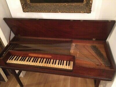 A Longman and Broderip square Piano 1772