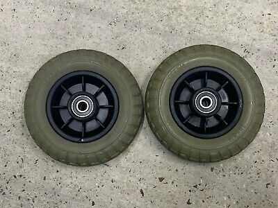 Sunrise Medical Sterling Little Gem Front Wheels Solid Tyres 7x1-3/4 Mobility Sc