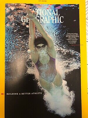 National Geographic Magazine July 2018 Science of Sport Bat Latino Power Seabird