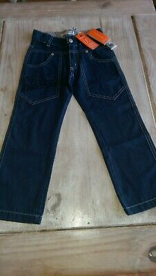SAVE£30 New Miniman Designer rrp£42.99 Oxford trouser 4yrs BNWT adjustable waist