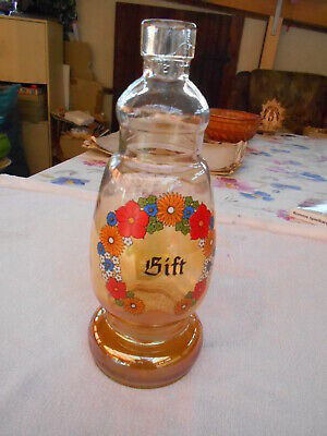 "Antike Apothekerflasche ""GIFT"" - signiert ""FROWO Made in GDR"""