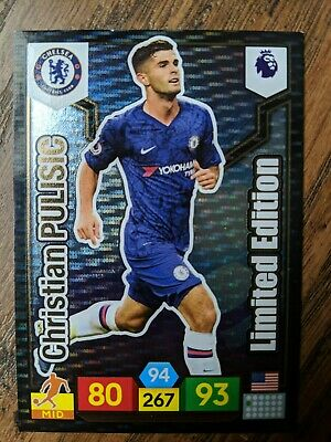 Panini Adrenalyn XL Limited Edition - Christian Pulisic - Chelsea