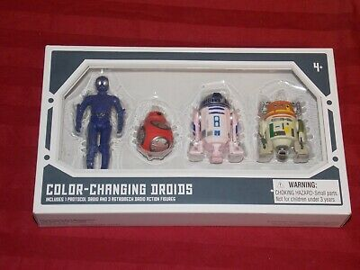 Disney Parks Star Wars Galaxy Edge Droid Factory Color Changing Droids New