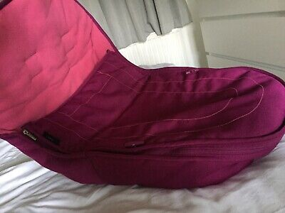iCandy peach 3 Footmuff In Fuchsia Pink EXCELLENT CONDITION