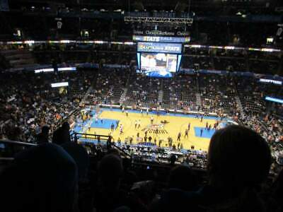 2 Midcourt Tickets Oklahoma City Thunder vs Chicago Bulls 12/16