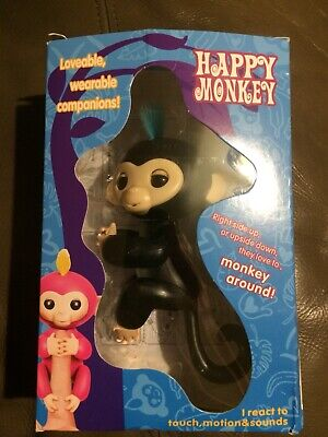 Electronic Happy Baby Monkey Toys Smart Interactive Finger Toy Puppets Pet Kids
