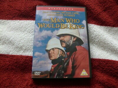 THE MAN WHO WOULD BE KING (DVD) CLASSIC 1975 COMEDY DRAMA 99p