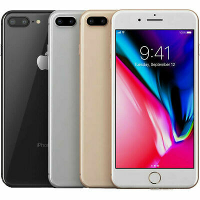 Apple iPhone 8 Plus 64GB (Factory Unlocked) Smartphone A+ 3 Month Service Plan