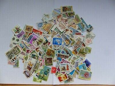 Stamps - British Commonwealth - approx 320 different stamps (Batch 1 A)