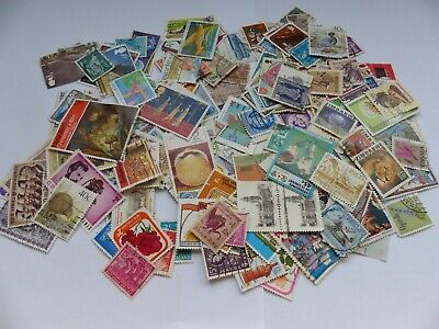 Postage stamps - British Commonwealth - approx 290 different stamps (Batch 1 B)