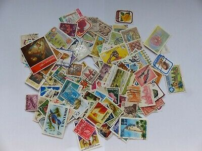 Postage stamps - British Commonwealth - approx 190 different stamps (Batch 1 C)
