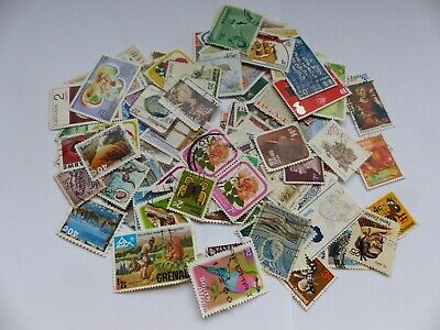 Postage stamps - British Commonwealth - approx 115 different stamps (Batch 1 E)