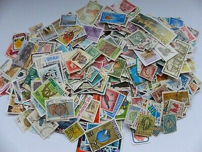 Postage stamps - British Commonwealth - approx 895 different stamps (Batch 2 A)