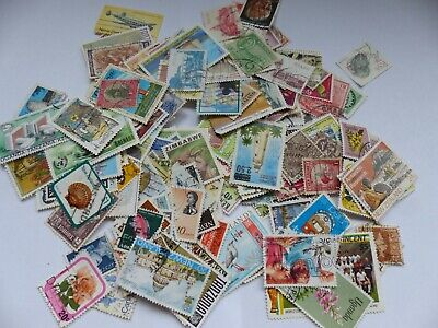 Postage stamps - British Commonwealth - approx 240 different stamps (Batch 2 D)