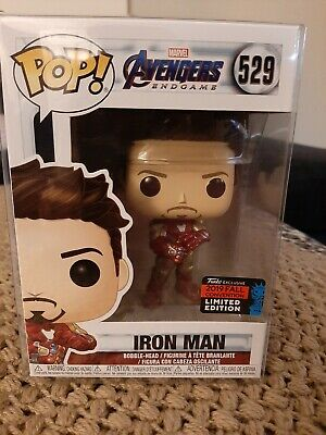 NYCC 2019 Funko Pop! Marvel Iron Man With Gauntlet Avengers Endgame BNIB