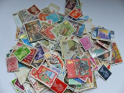 Postage stamps - Great Britain - approx 190 different stamps (Batch 3 J)