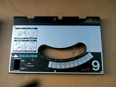 "Beaver Delta 34-580 9"" Table Saw Parts - Saw Cabinet / Enclosure"