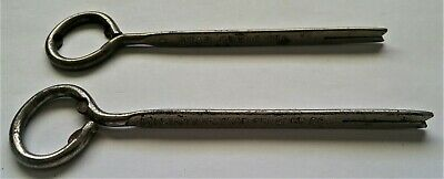 Vintage Lot Of Two Diff. Sardine Can Crown Cap Bottle Wire Opener Beer Soda Ale