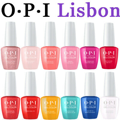 OPI LISBOA GELCOLOR COLECCION 2019 12ud GEL COLOR COLLECTION LISBON 15ml GEL