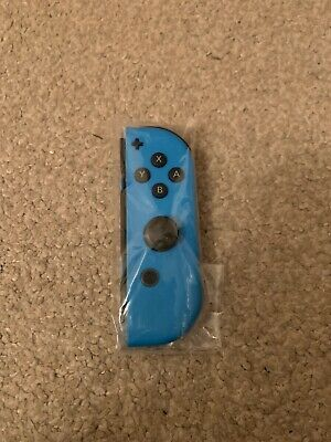Official Nintendo Switch Neon Blue RIGHT Joy-Con Controller - Brand New!