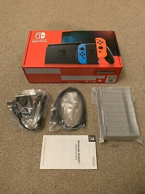 Official Nintendo Switch TV Dock, HDMI Cable, AC Adapter (UK) & Box - BRAND NEW!