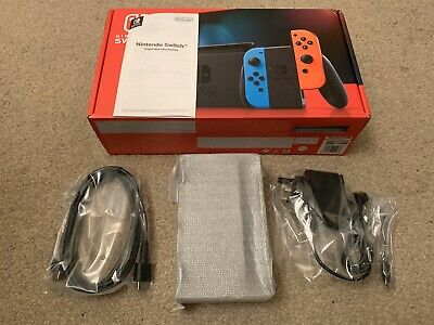 Brand New Official Nintendo Switch TV Dock, HDMI Cable, AC Adapter (UK) and Box