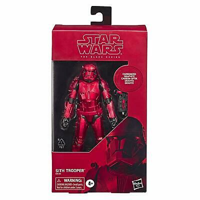 Star Wars Black Series Carbonized Graphite Sith Trooper Figure Rise Of Skywalker
